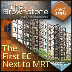 Brownstone EC next to Canberra MRT