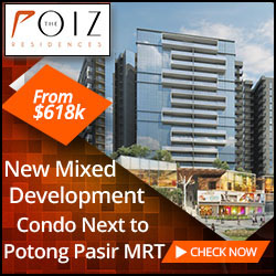 Poiz Residences Condo next to Potong Pasir