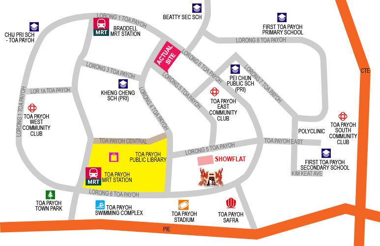 Gem Residences Location