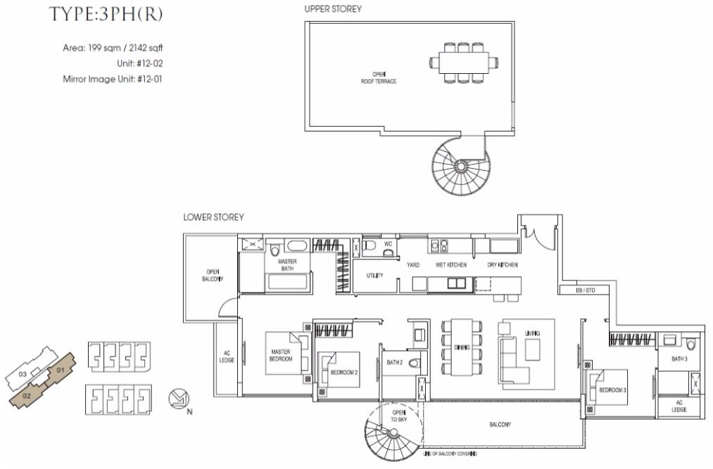 Goodwood Grand Penthouse Floor Plan
