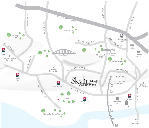 skyline-residences-location