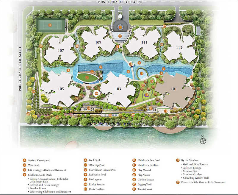 the-crest-condo-site-plan