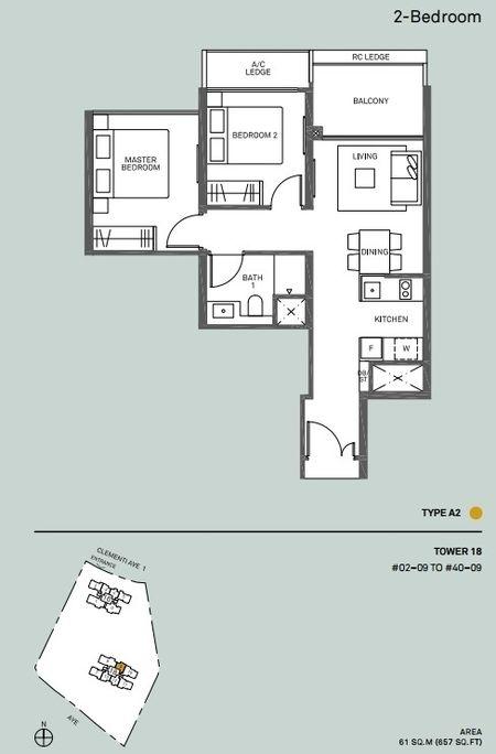 2-bedroom-floor-plan-a2-clement-canopy-condo