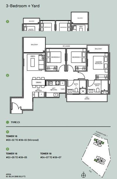 3-bedroom-floor-plan-c1-clement-canopy-condo