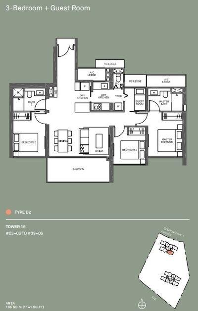 3-plus-guest-room-floor-plan-d2-clement-canopy-condo