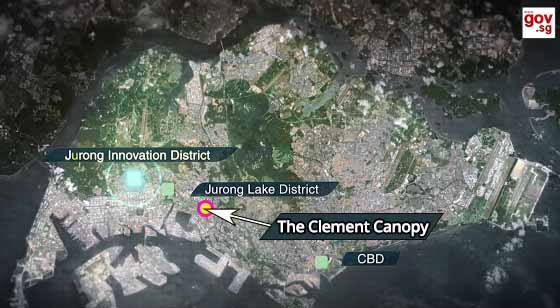 The CLement Canopy Condo near Jurong Innvation District
