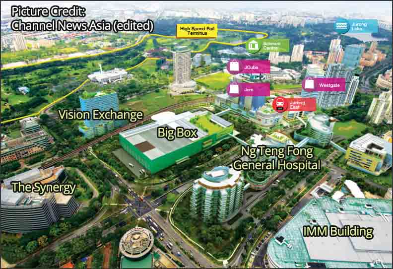 Vision Exchange in Jurong Gateway