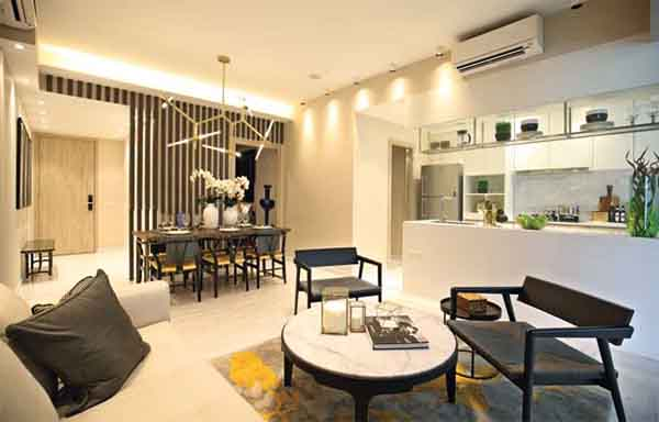 The Alps Residences 3 bedroom showflat