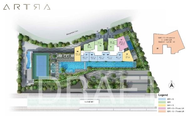 Artra Condo Site Plan