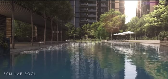 Martin Modern Lap Pool