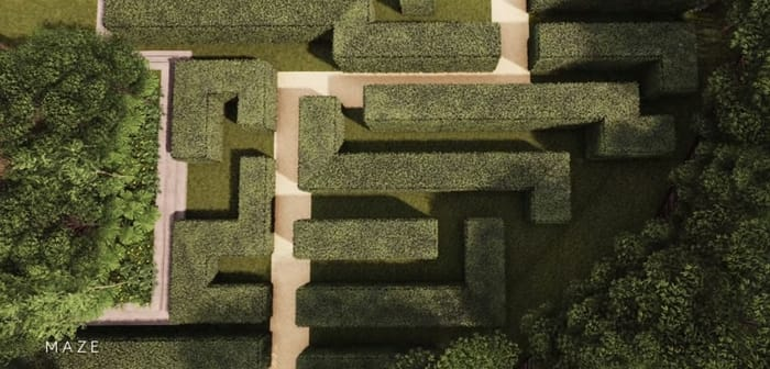 Martin Modern Maze Garden