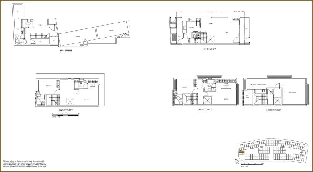 Watercove Semi-D Floor Plan