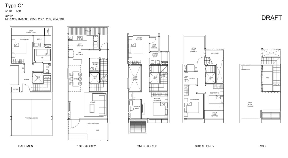 Belgravia Villas Floor Plan