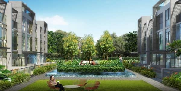 Belgravia Villas Garden