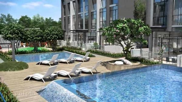 Belgravia Villas Pool Deck