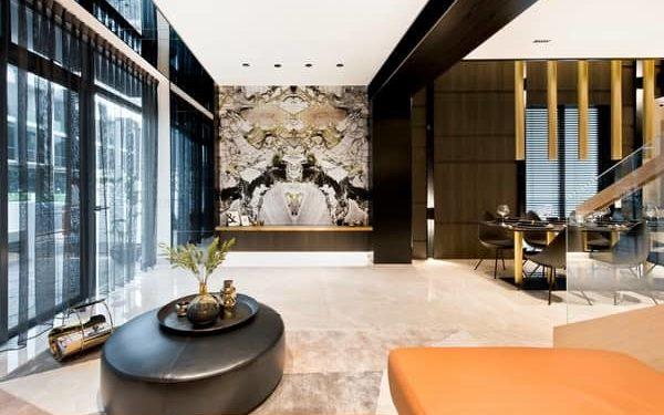 Belgravia Villas grand lobby