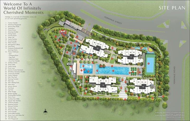 Parc Botannia Site Plan