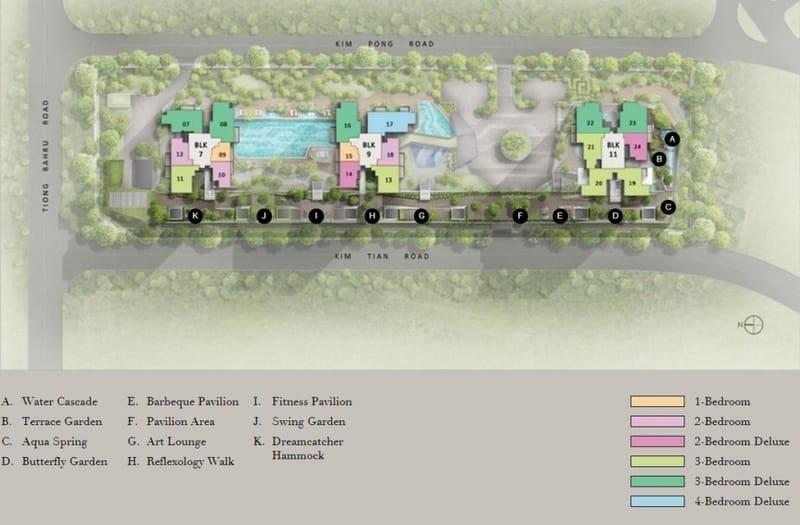 Highline Residences Site Plan