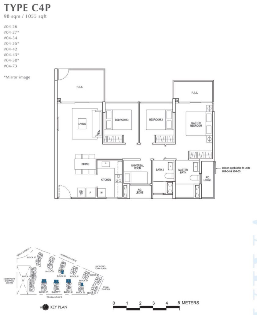 North Park Residences Floor Plan