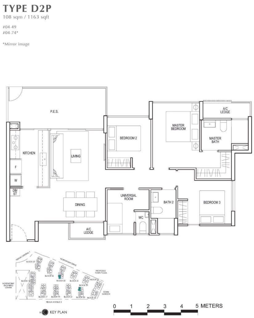 North Park Residences Floor Plan
