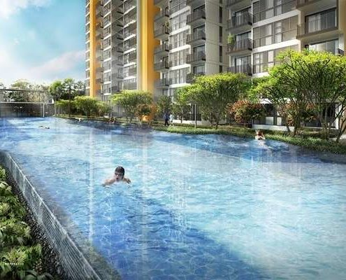 Westwood Residences swimming pool