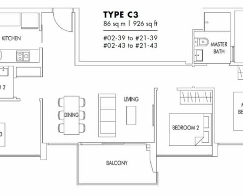 3-bedroom-c3-sol-acres-floorplan