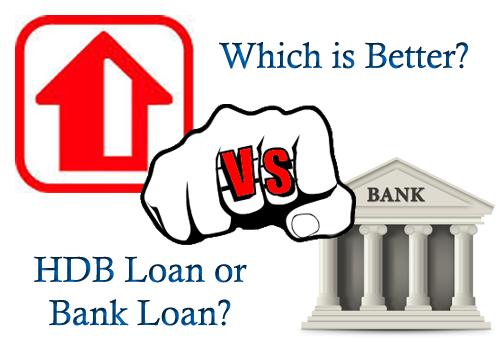 HDB loan vs bank loan