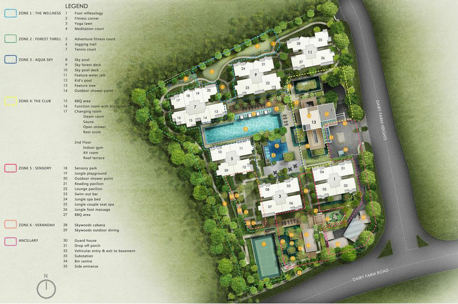 Skywoods Site Plan