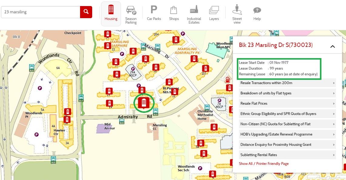 HDB Map Service 4