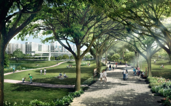 Bidadari pedestrian singapore new condo launch for Impression homes park ridge