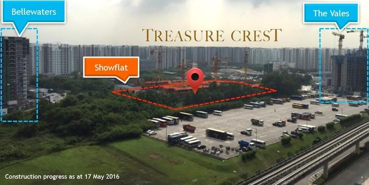 Treasure Crest Location
