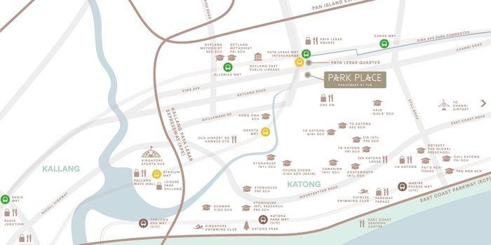 Park Place Residences location