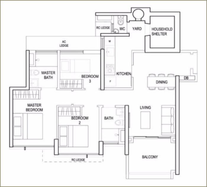 terrace-ec-floorplan-3br-type-a-1001sqft