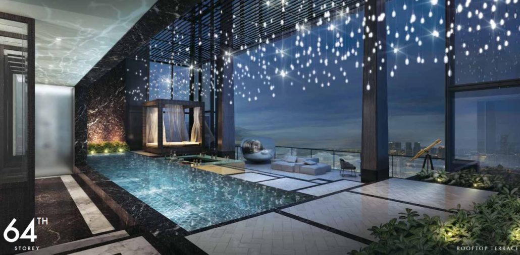 Wallich Residence Penthouse Singapore Tallest Building