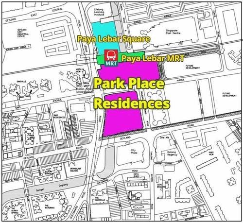 park-place-condo-location-map
