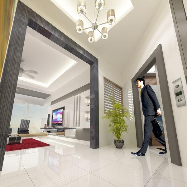 Penthouse Singapore Private Lift