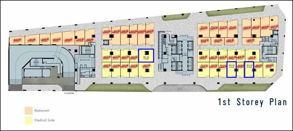 Vision Exchange Floor Plan (Ground Floor)
