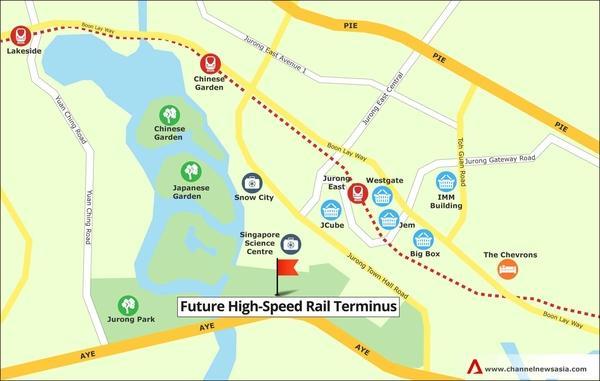 Vision Exchange near High-Speed Rail Terminus