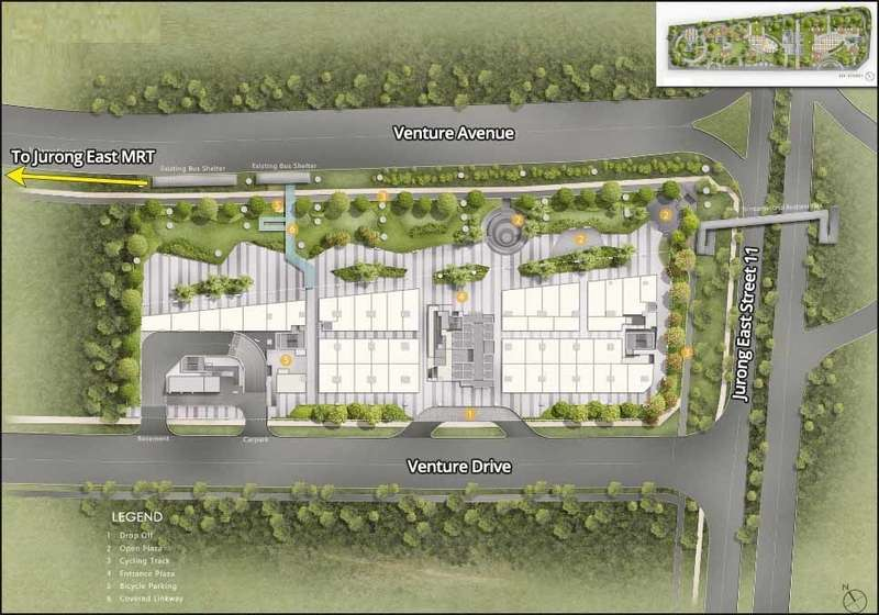 Vision Exchange Site Plan