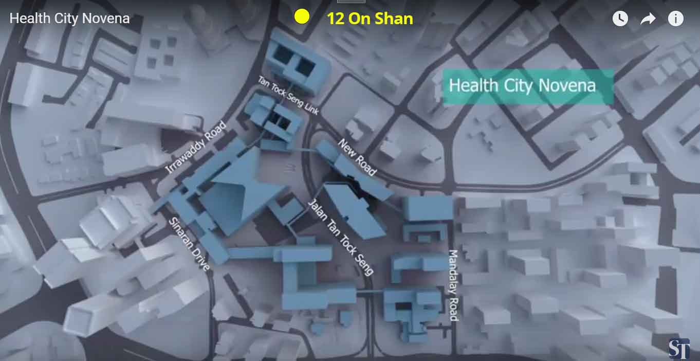 Health City Novena near 12 on Shan