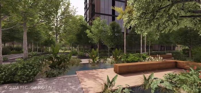 Martin Modern Aquatic Garden
