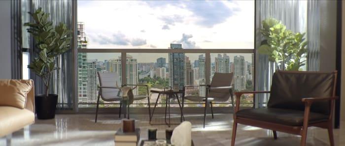 Martin Modern city view