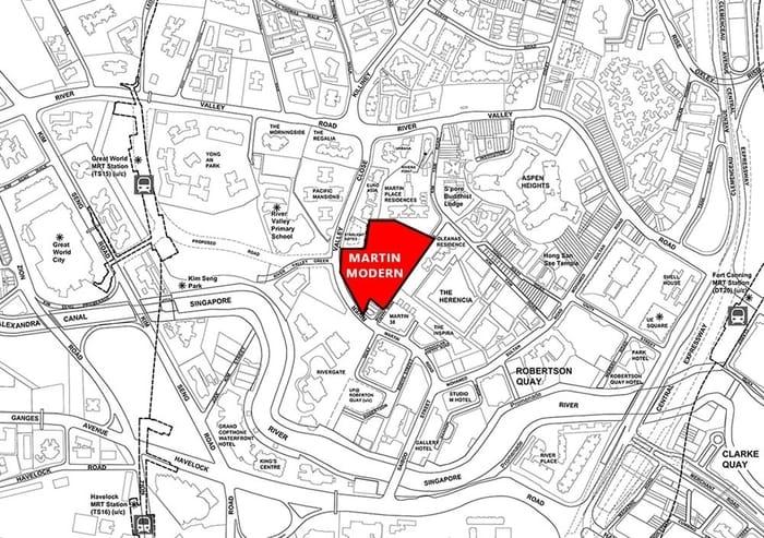Martin Modern Location