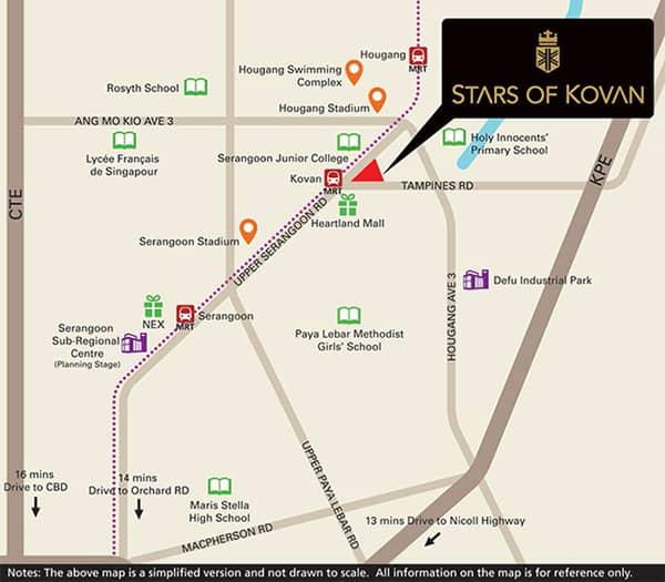 Stars of Kovan location