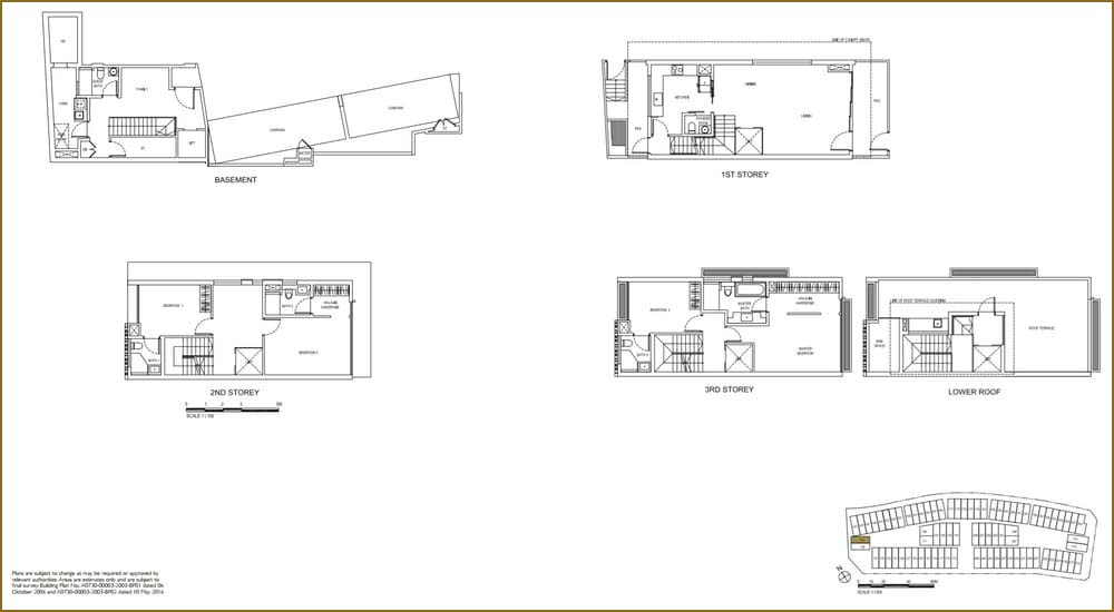 Watercove Semi-D Floor Plan
