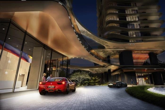 New Futura grand lobby
