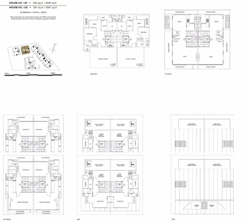 Chancery Hill Villas Floor Plan