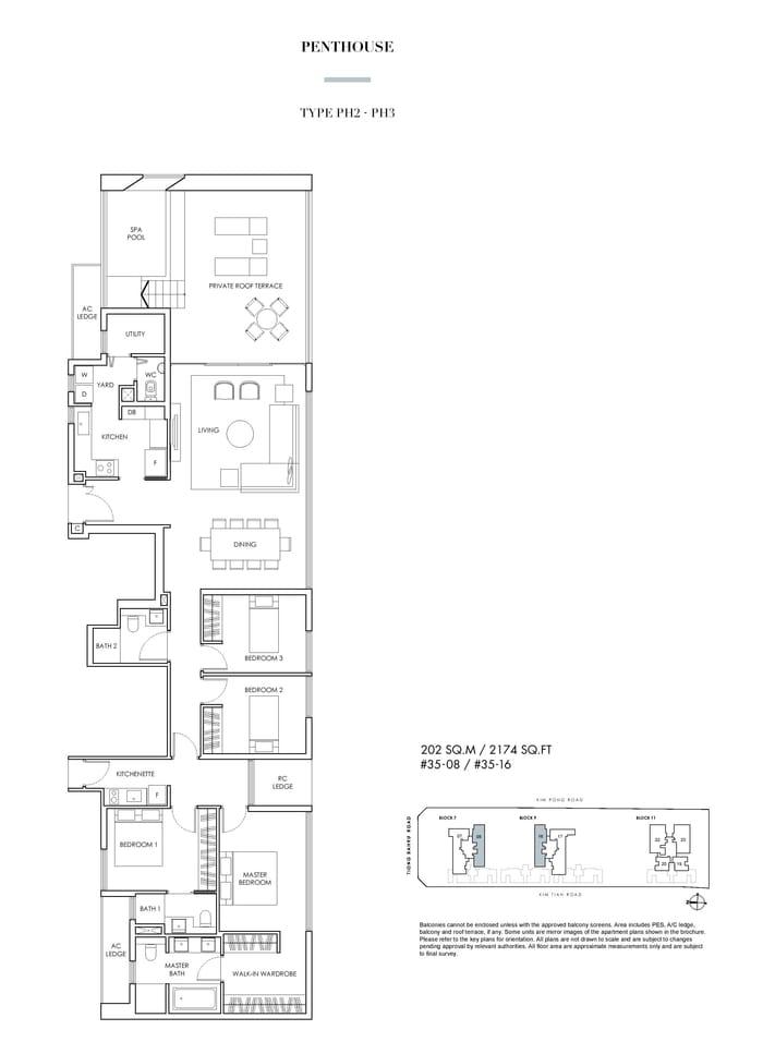Highline Residences Penthouse Floor Plan