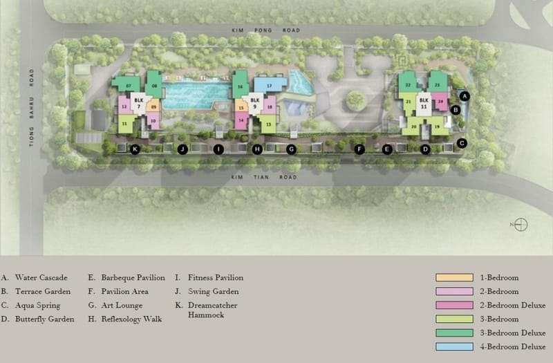 Highline Residences Site Plan