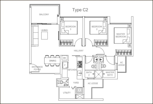 Rivercove Residences EC Type C2